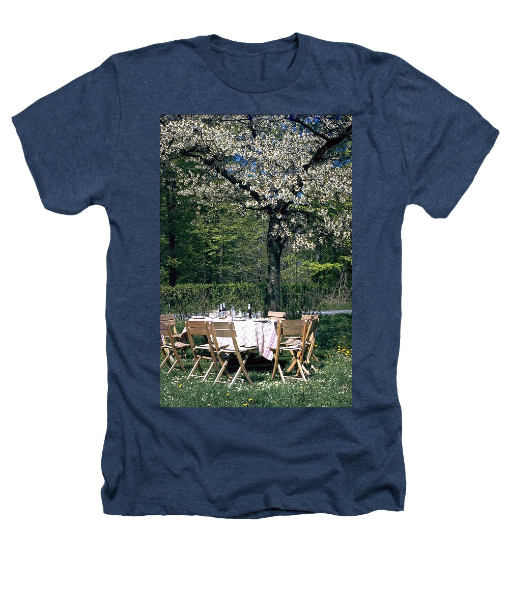 Lunch Heathers T-Shirt featuring the photograph Lunch by Flavia Westerwelle