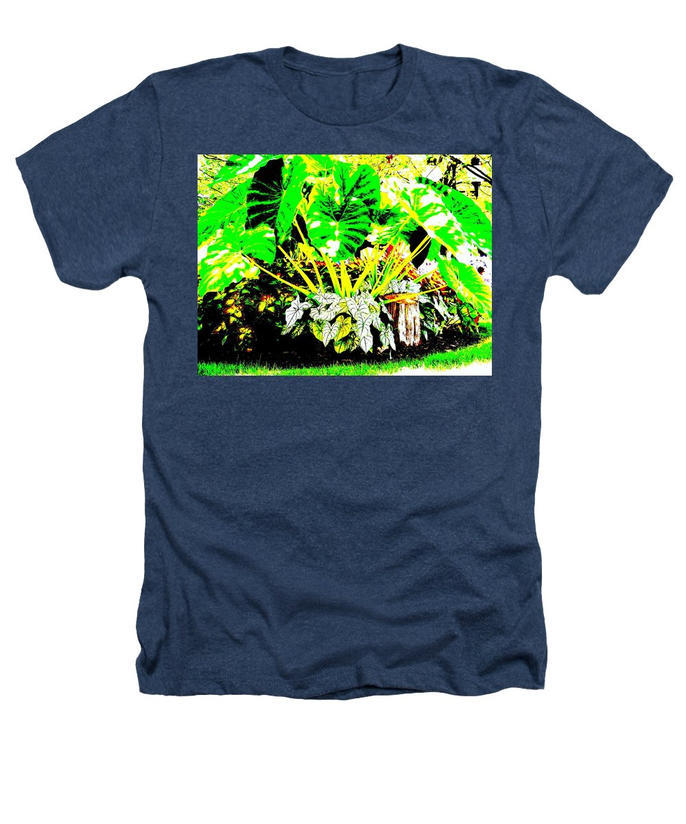 Plants Heathers T-Shirt featuring the photograph Lush Garden by Ed Smith