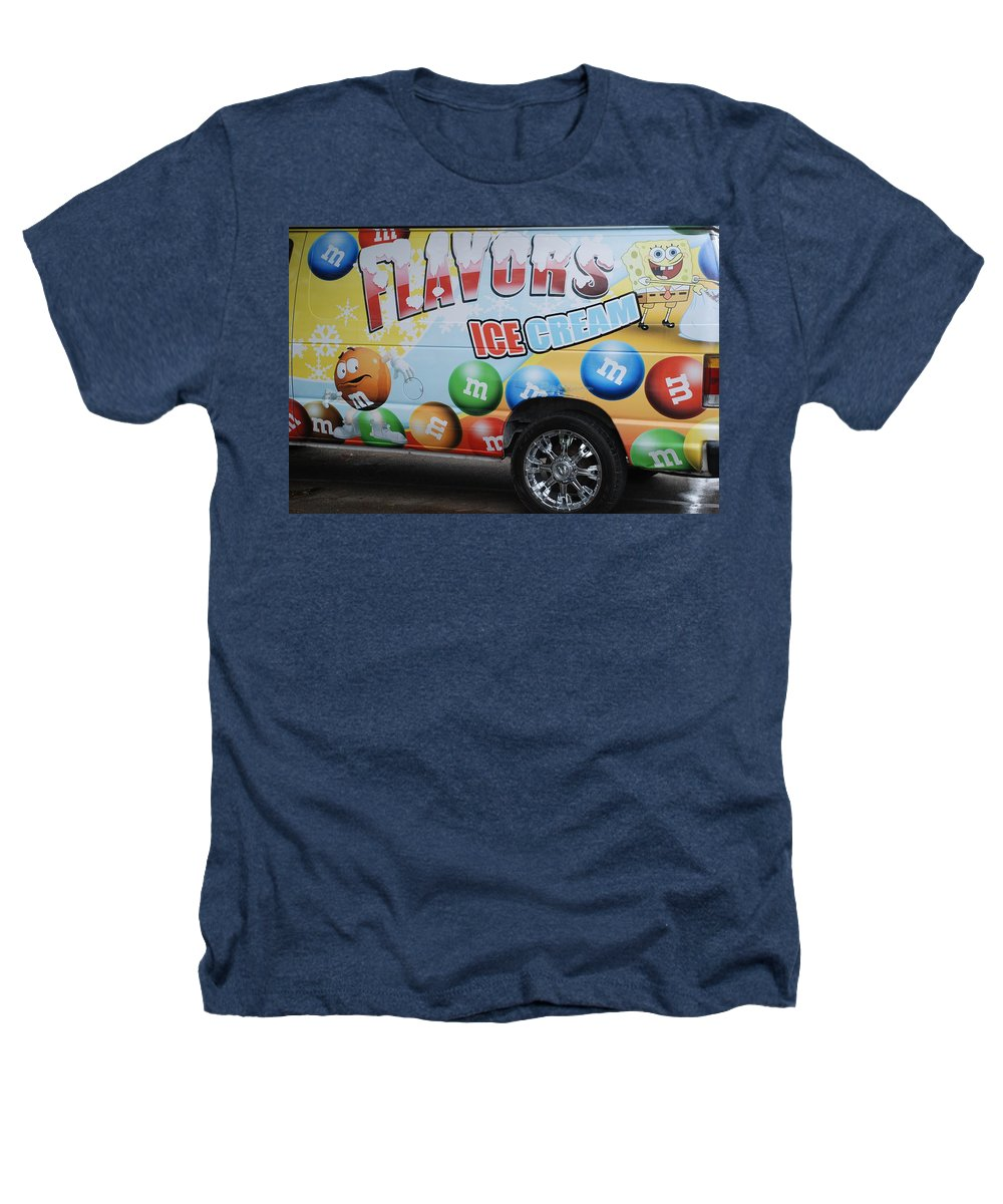 Sponge Bob Heathers T-Shirt featuring the photograph M And M Flavors For The Kids by Rob Hans