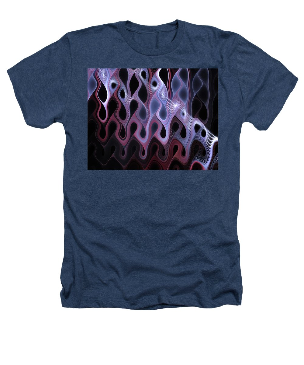 Digital Art Heathers T-Shirt featuring the digital art Meltdown by Amanda Moore