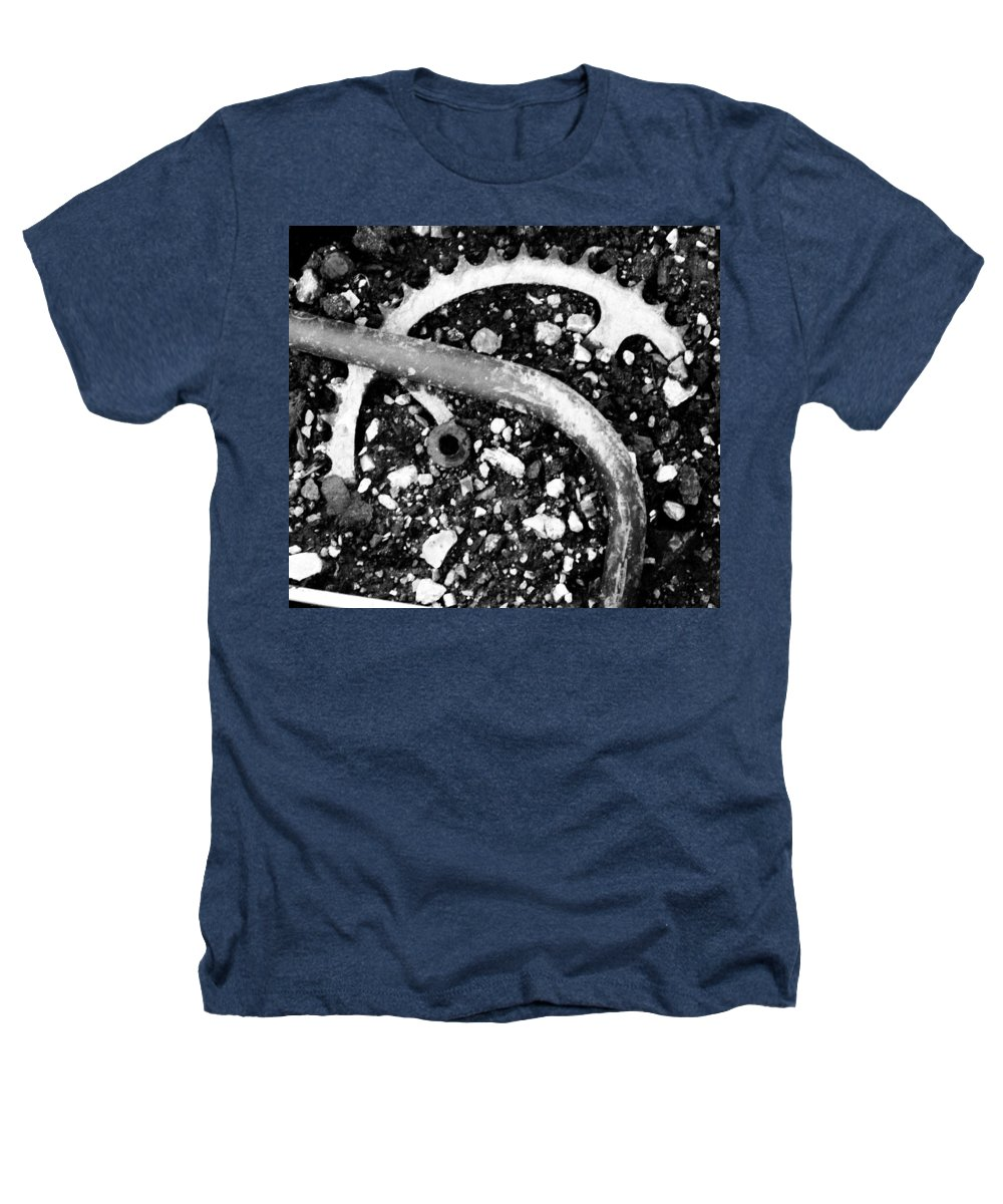 Metal Heathers T-Shirt featuring the photograph Metallic Curves by Angus Hooper Iii