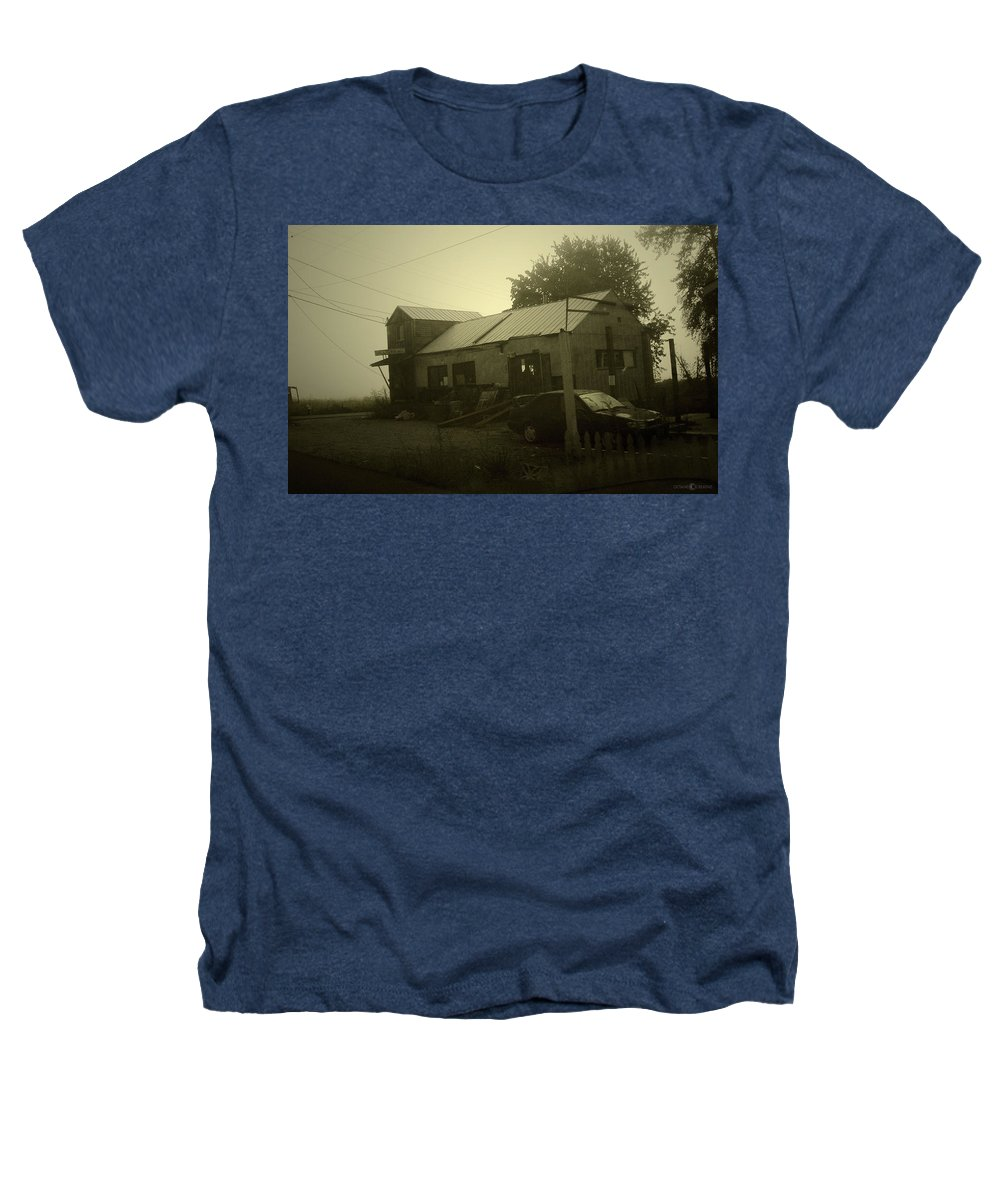 Milltown Heathers T-Shirt featuring the photograph Milltown Merchantile by Tim Nyberg