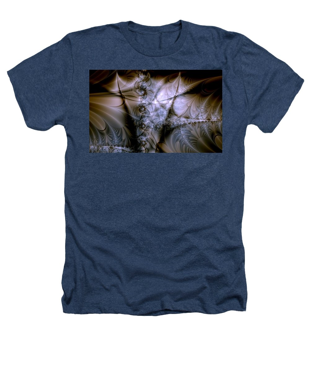 Chocolate Heathers T-Shirt featuring the digital art Molecular Cacao by Casey Kotas