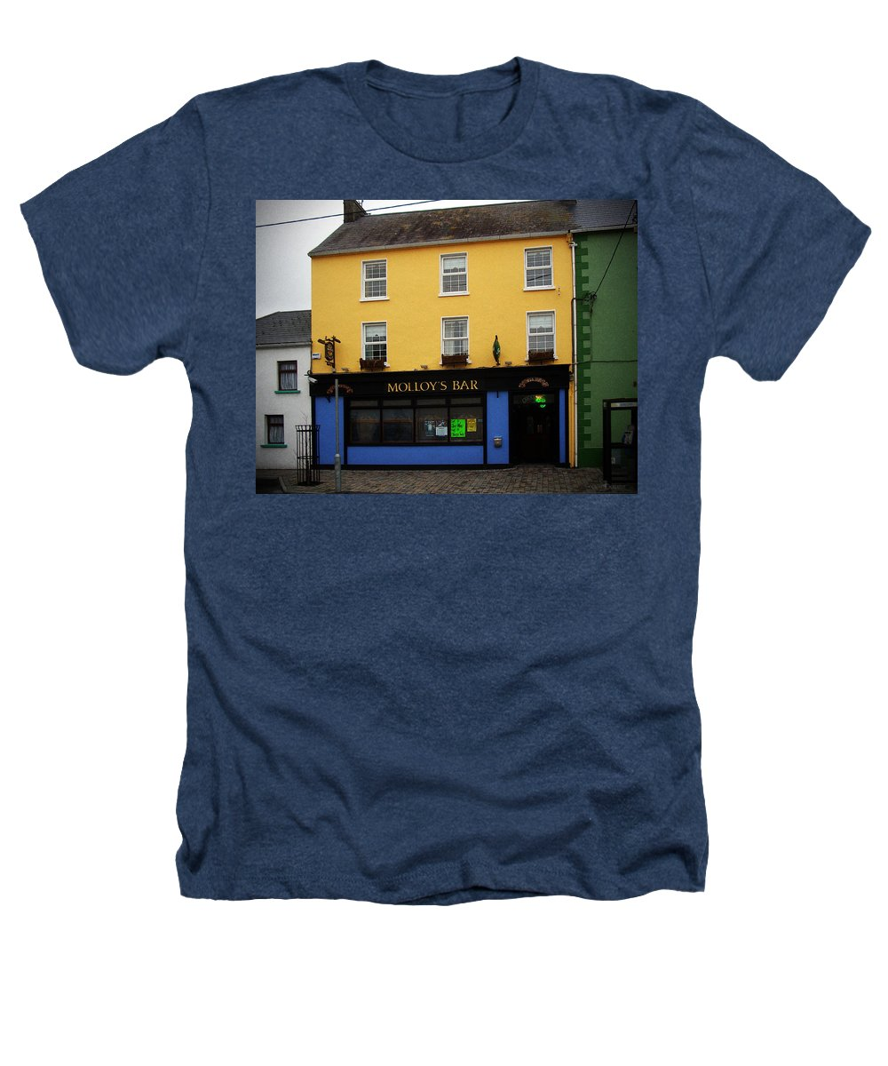 Pub Heathers T-Shirt featuring the photograph Molloy by Tim Nyberg
