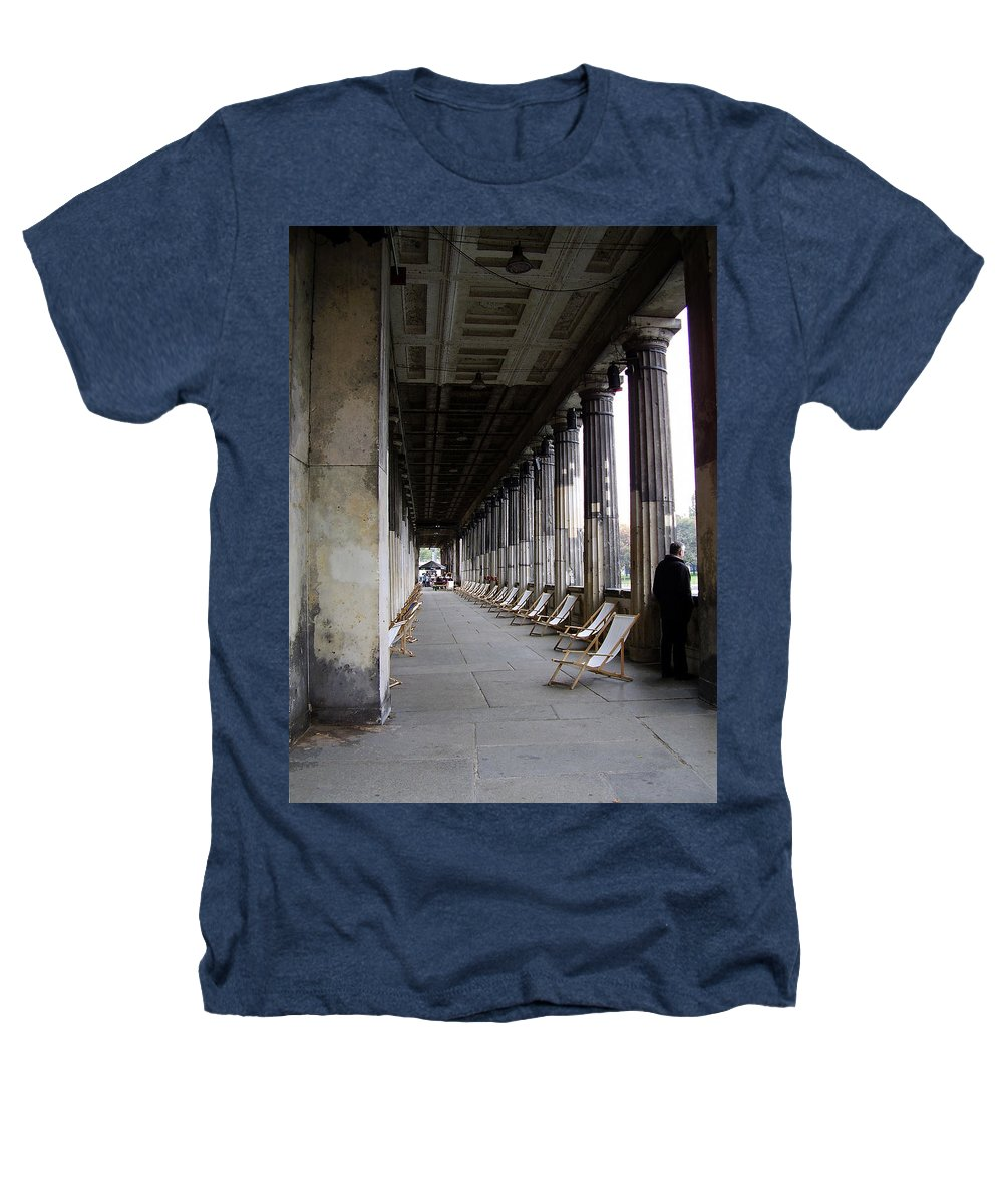 Museumsinsel Heathers T-Shirt featuring the photograph Museumsinsel by Flavia Westerwelle