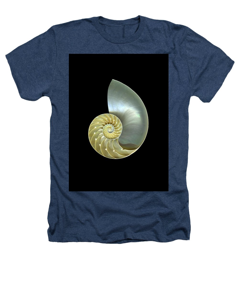 Slanec Heathers T-Shirt featuring the photograph Nautilus Nr.1 by Christian Slanec