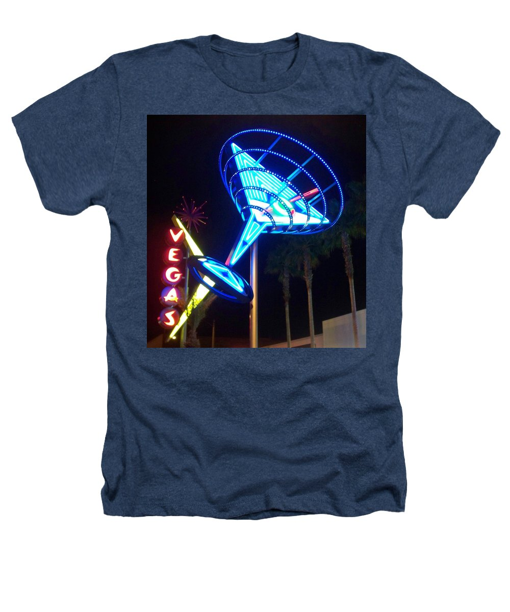 Vegas Heathers T-Shirt featuring the photograph Neon Signs 1 by Anita Burgermeister