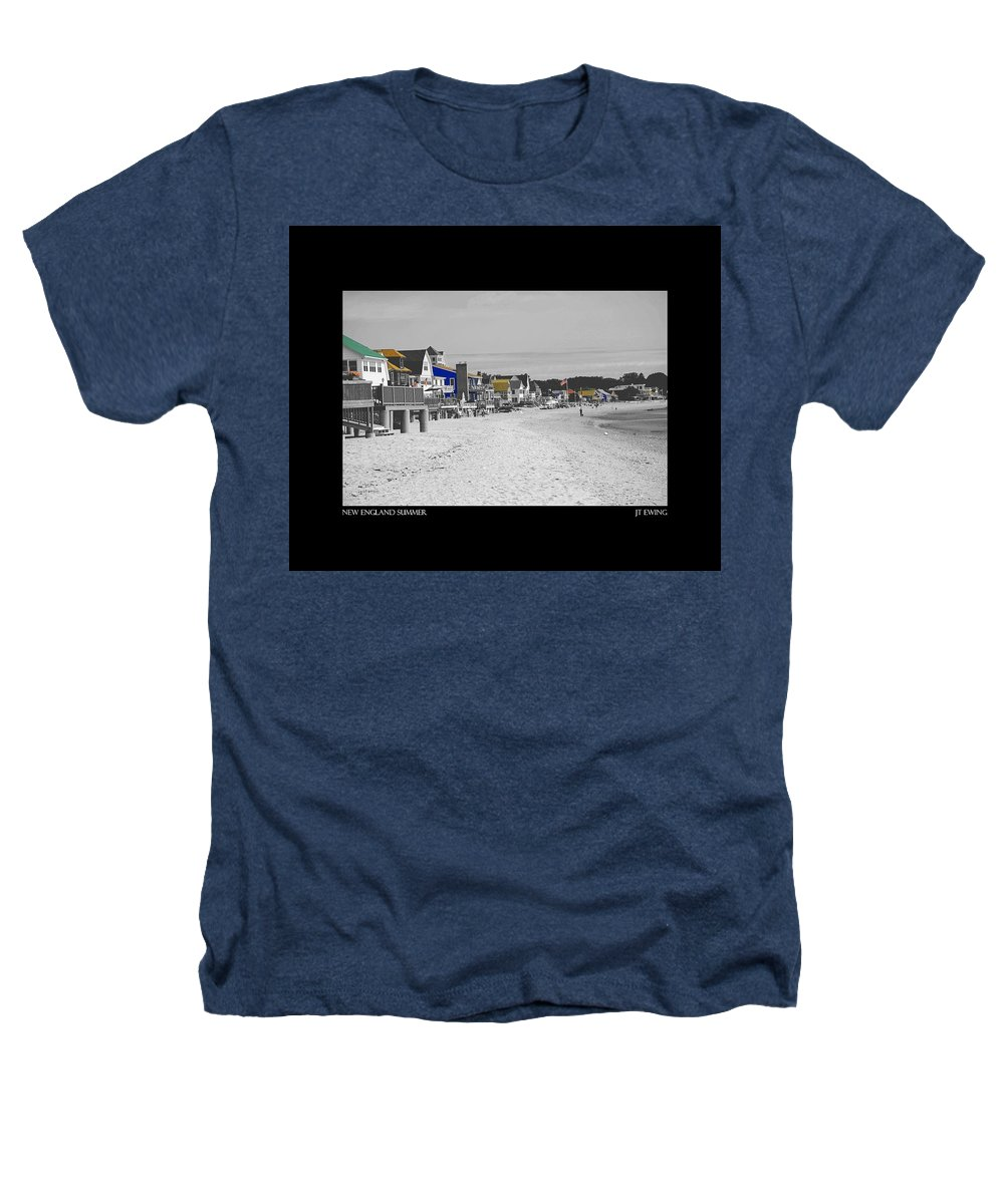 Summer Heathers T-Shirt featuring the photograph New England Summer by J Todd