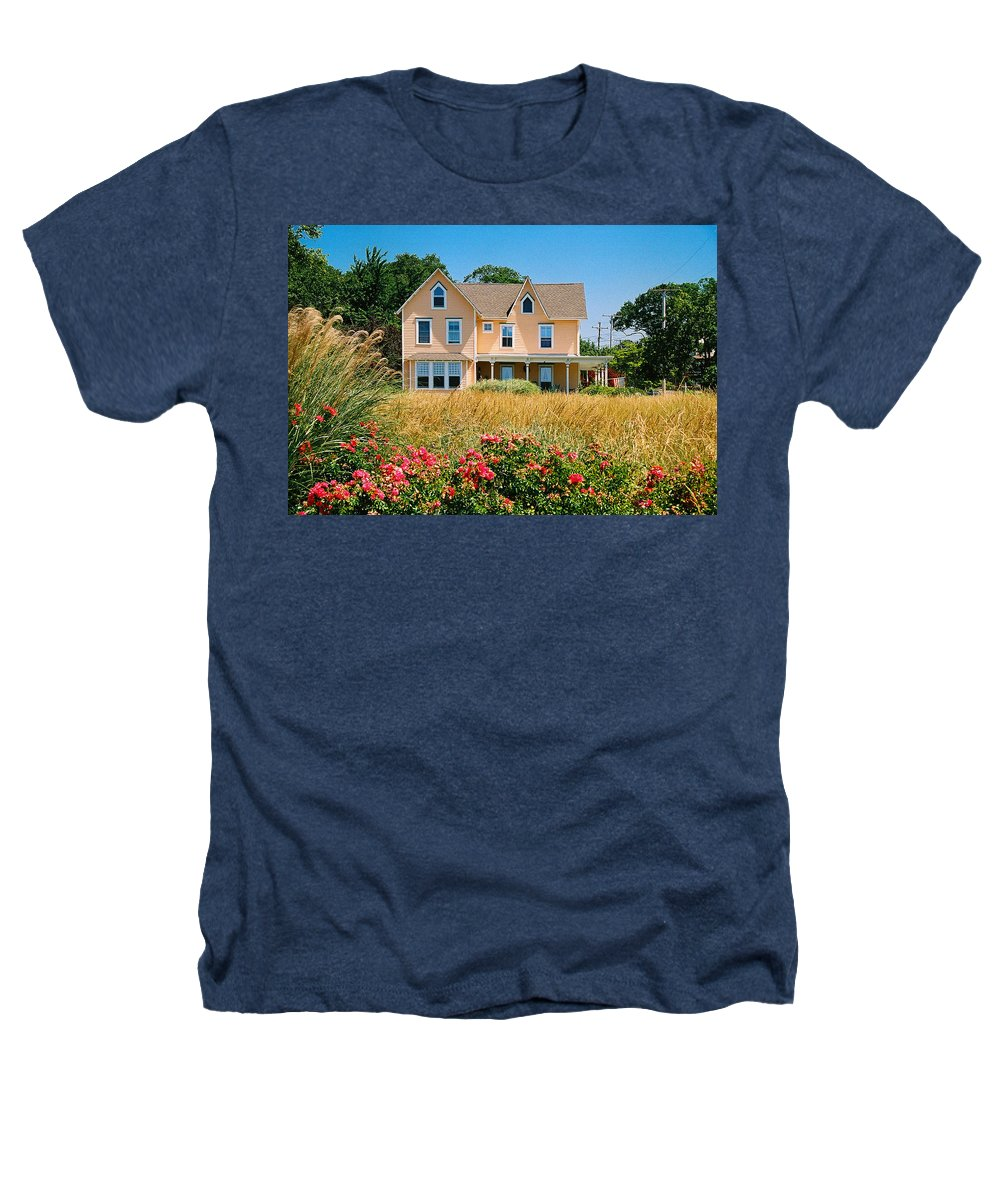 Landscape Heathers T-Shirt featuring the photograph New Jersey Landscape by Steve Karol
