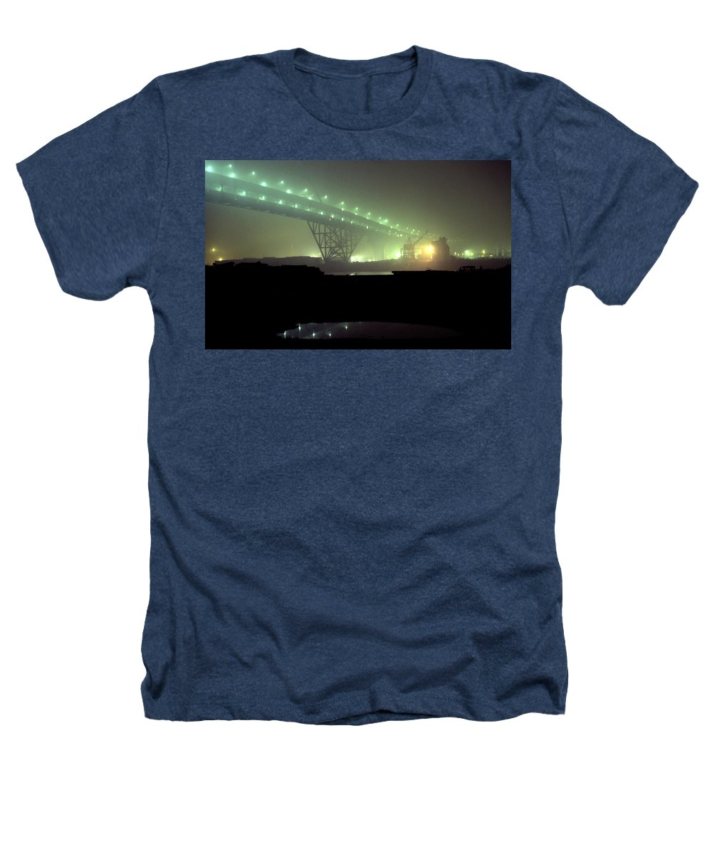 Night Photo Heathers T-Shirt featuring the photograph Nightscape 3 by Lee Santa
