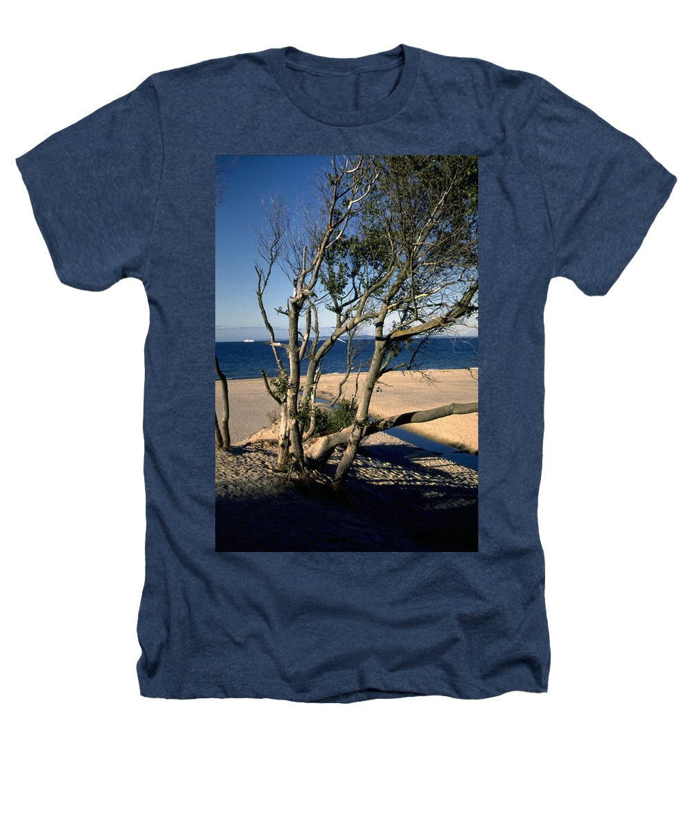 Denmark Heathers T-Shirt featuring the photograph Nordic Beach by Flavia Westerwelle