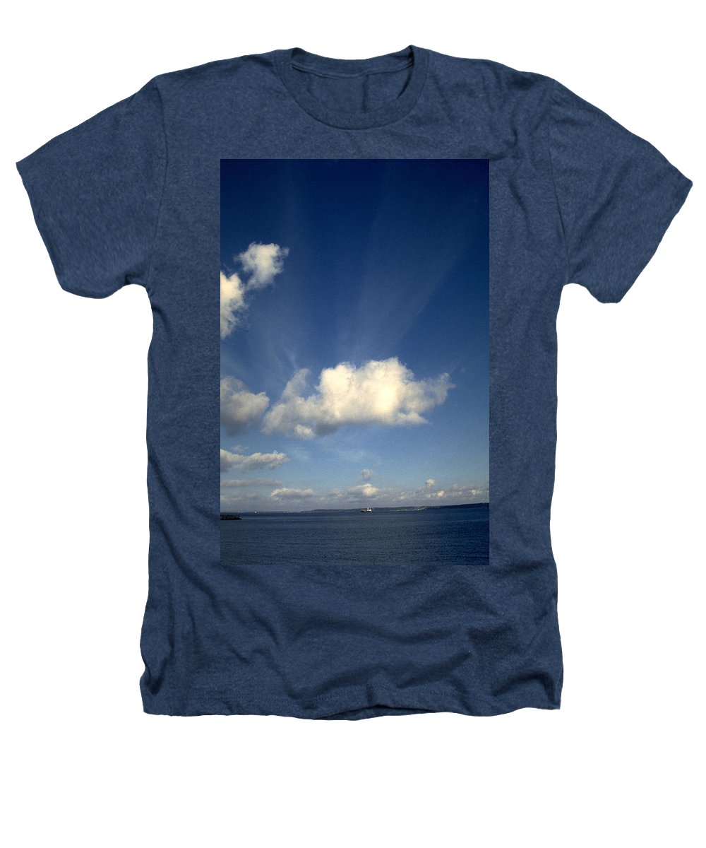 Northern Sky Heathers T-Shirt featuring the photograph Northern Sky by Flavia Westerwelle