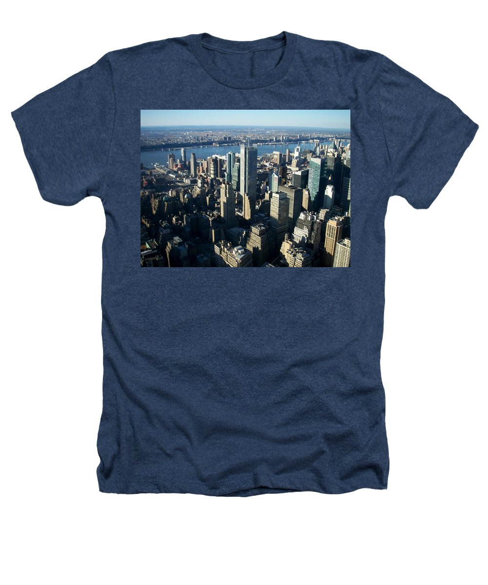 Nyc Heathers T-Shirt featuring the photograph Nyc 1 by Anita Burgermeister