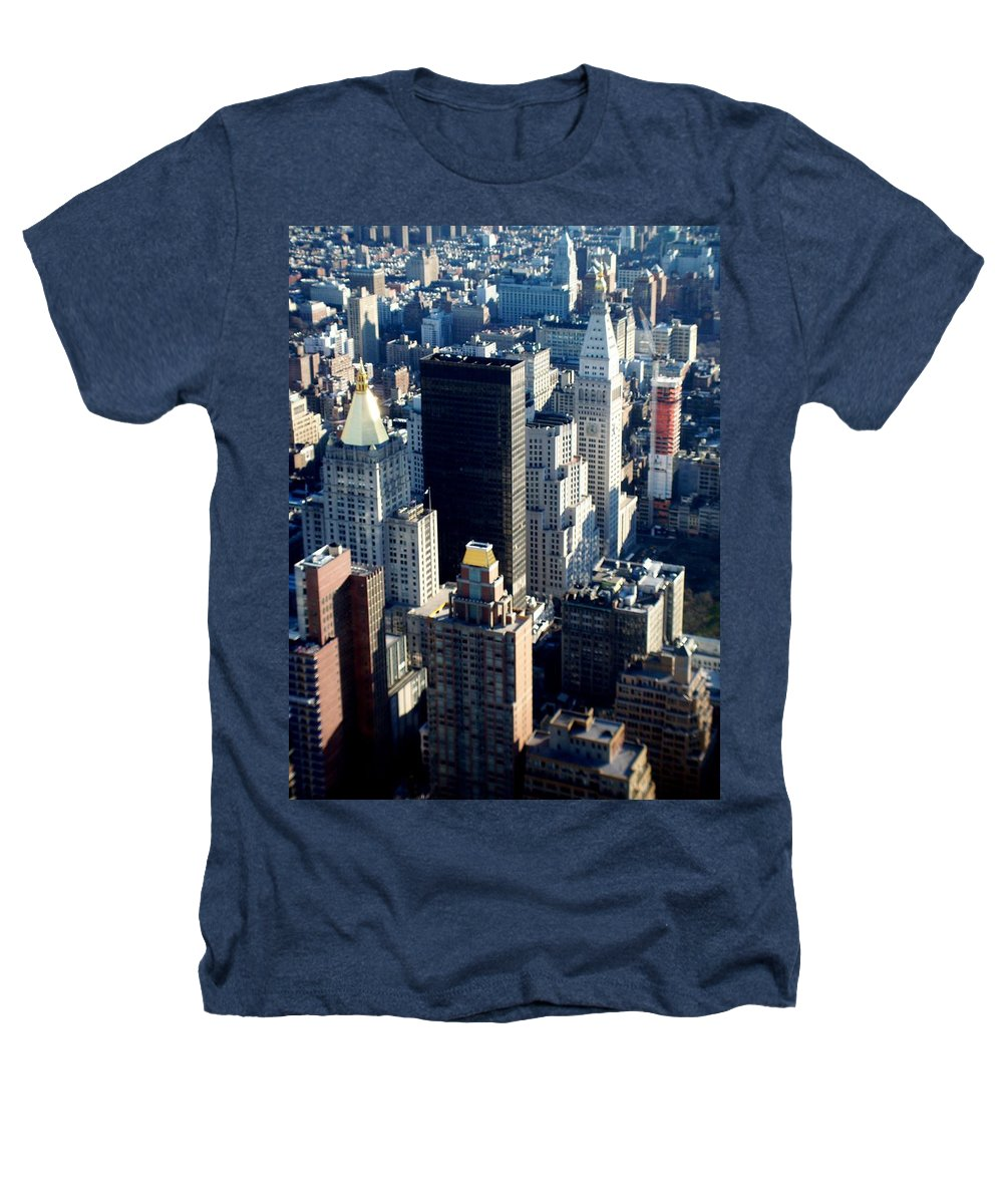 Nyc Heathers T-Shirt featuring the photograph Nyc 2 by Anita Burgermeister