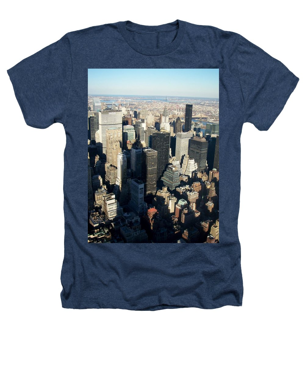 Nyc Heathers T-Shirt featuring the photograph Nyc 3 by Anita Burgermeister