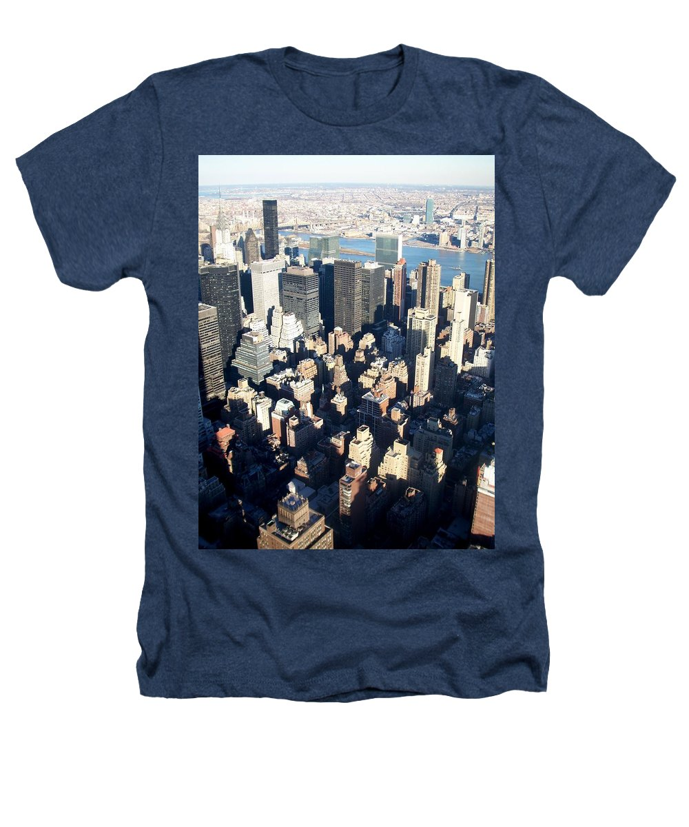 Nyc Heathers T-Shirt featuring the photograph Nyc 4 by Anita Burgermeister