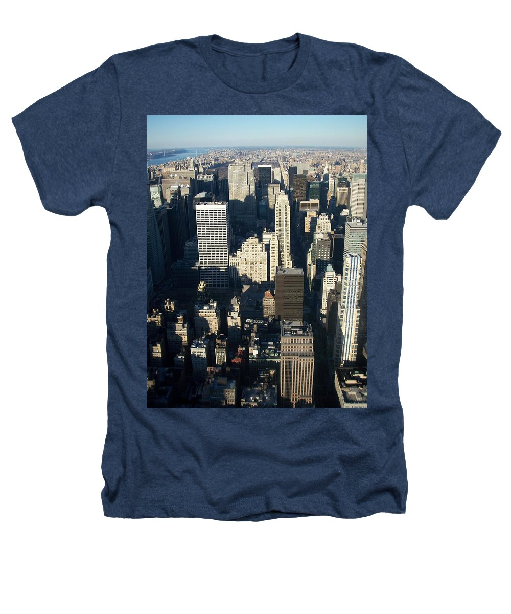 Nyc Heathers T-Shirt featuring the photograph Nyc 5 by Anita Burgermeister
