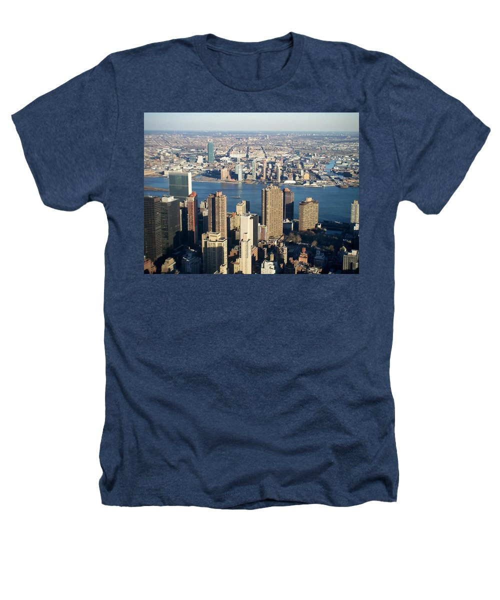 Nyc Heathers T-Shirt featuring the photograph Nyc 6 by Anita Burgermeister