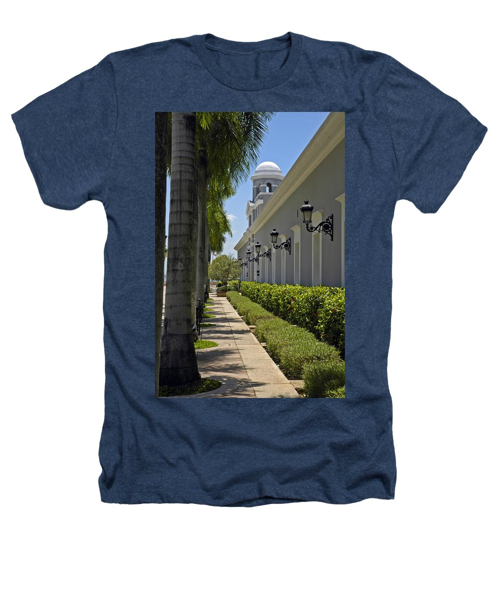 Travel Heathers T-Shirt featuring the photograph Old San Juan Puerto Rico by Tito Santiago
