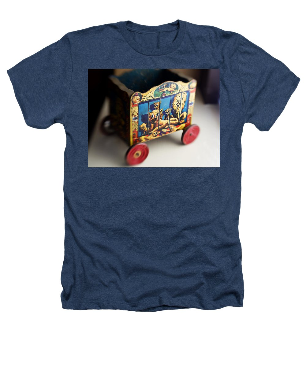 Americana Heathers T-Shirt featuring the photograph Old Toy by Marilyn Hunt