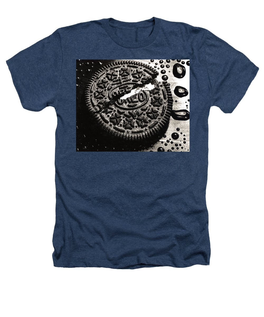 Cookie Heathers T-Shirt featuring the photograph Oreo Cookie by Nancy Mueller