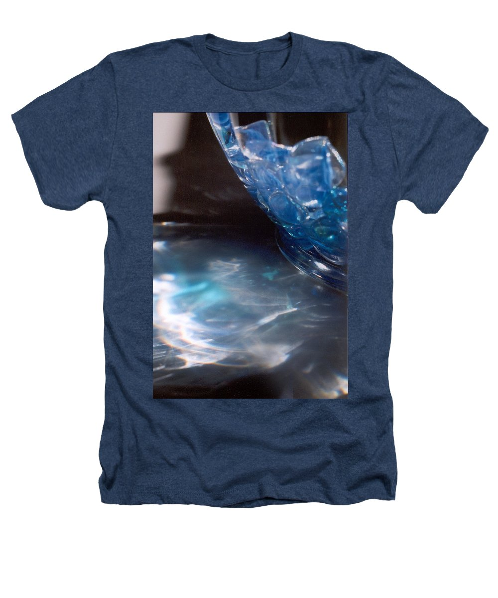 Abstract Heathers T-Shirt featuring the photograph Panel One From Swirl by Steve Karol