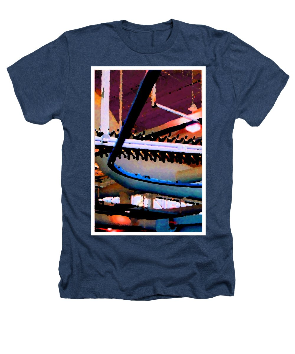 Abstract Heathers T-Shirt featuring the photograph Panel Three From Star Factory by Steve Karol