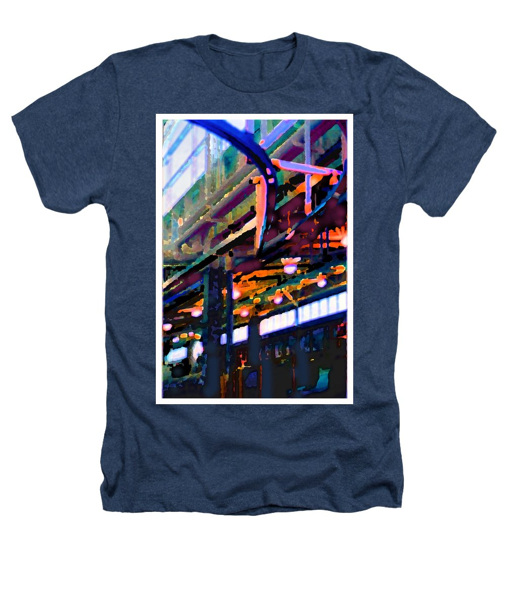 Abstract Heathers T-Shirt featuring the photograph panel two from Star Factory by Steve Karol