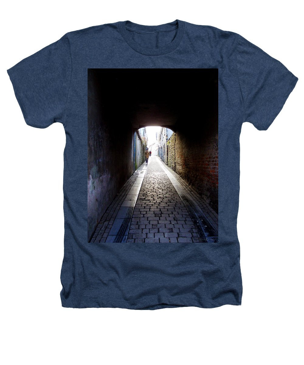 Cooblestone Heathers T-Shirt featuring the photograph Passage by Tim Nyberg