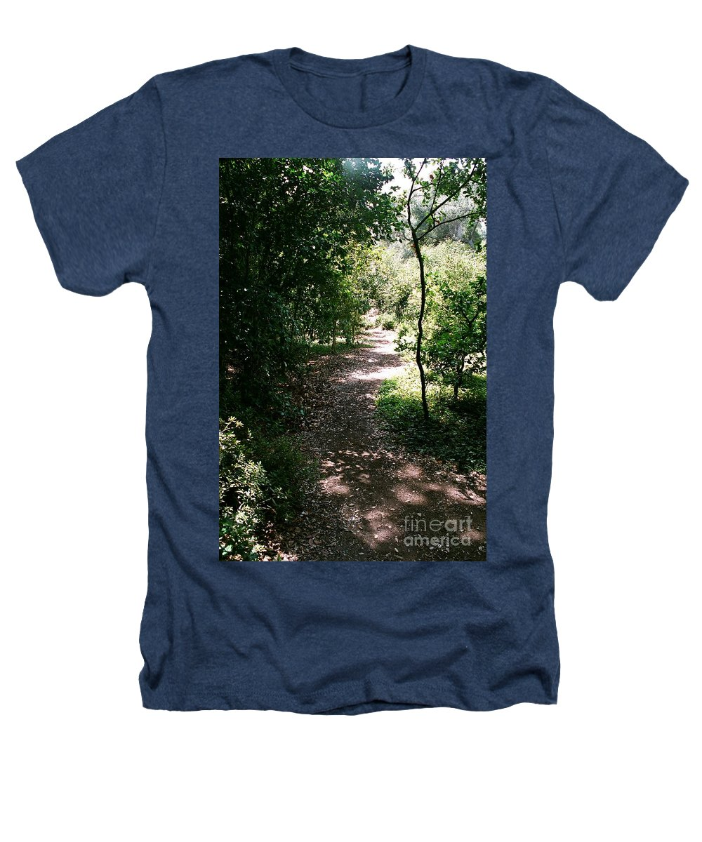Path Heathers T-Shirt featuring the photograph Path by Dean Triolo