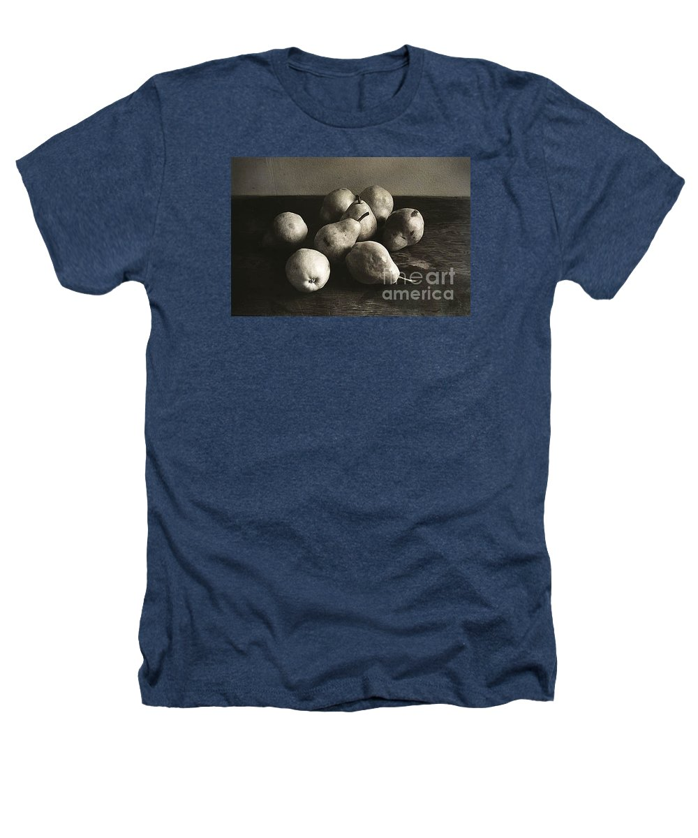 Pears Heathers T-Shirt featuring the photograph Pears by Michael Ziegler