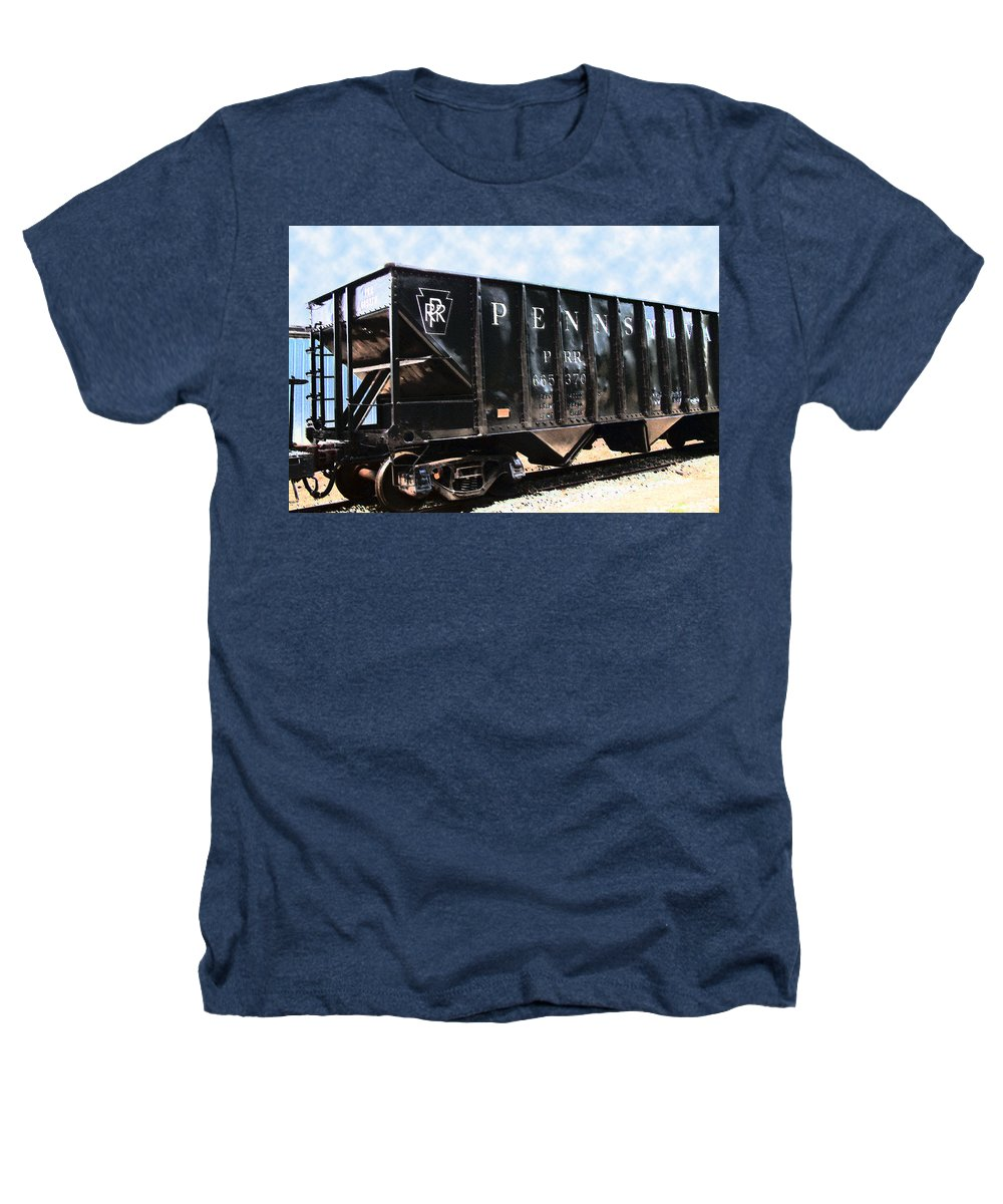 Trains Heathers T-Shirt featuring the photograph Pennsylvania Hopper by RC DeWinter
