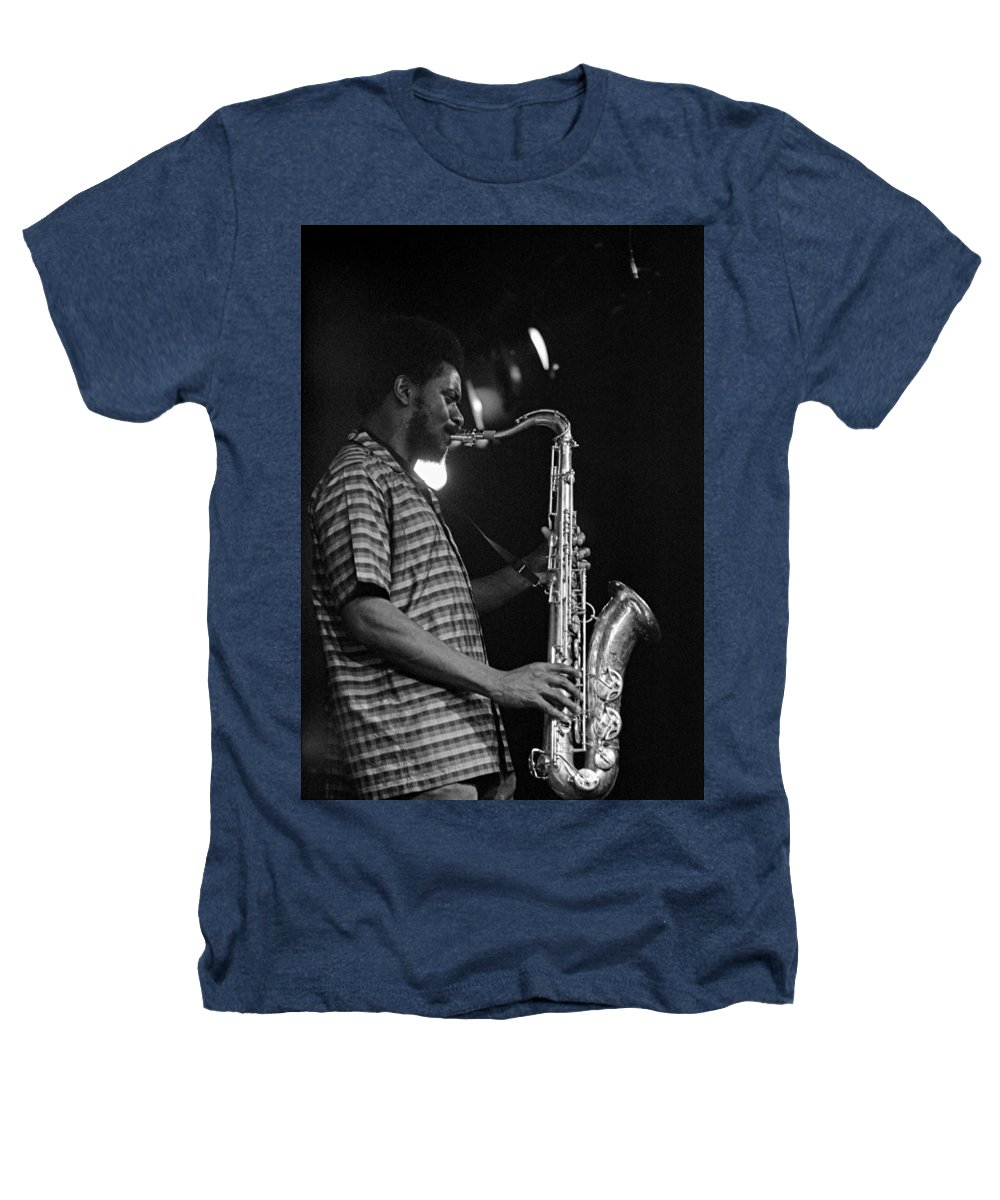 Pharoah Sanders Heathers T-Shirt featuring the photograph Pharoah Sanders 2 by Lee Santa