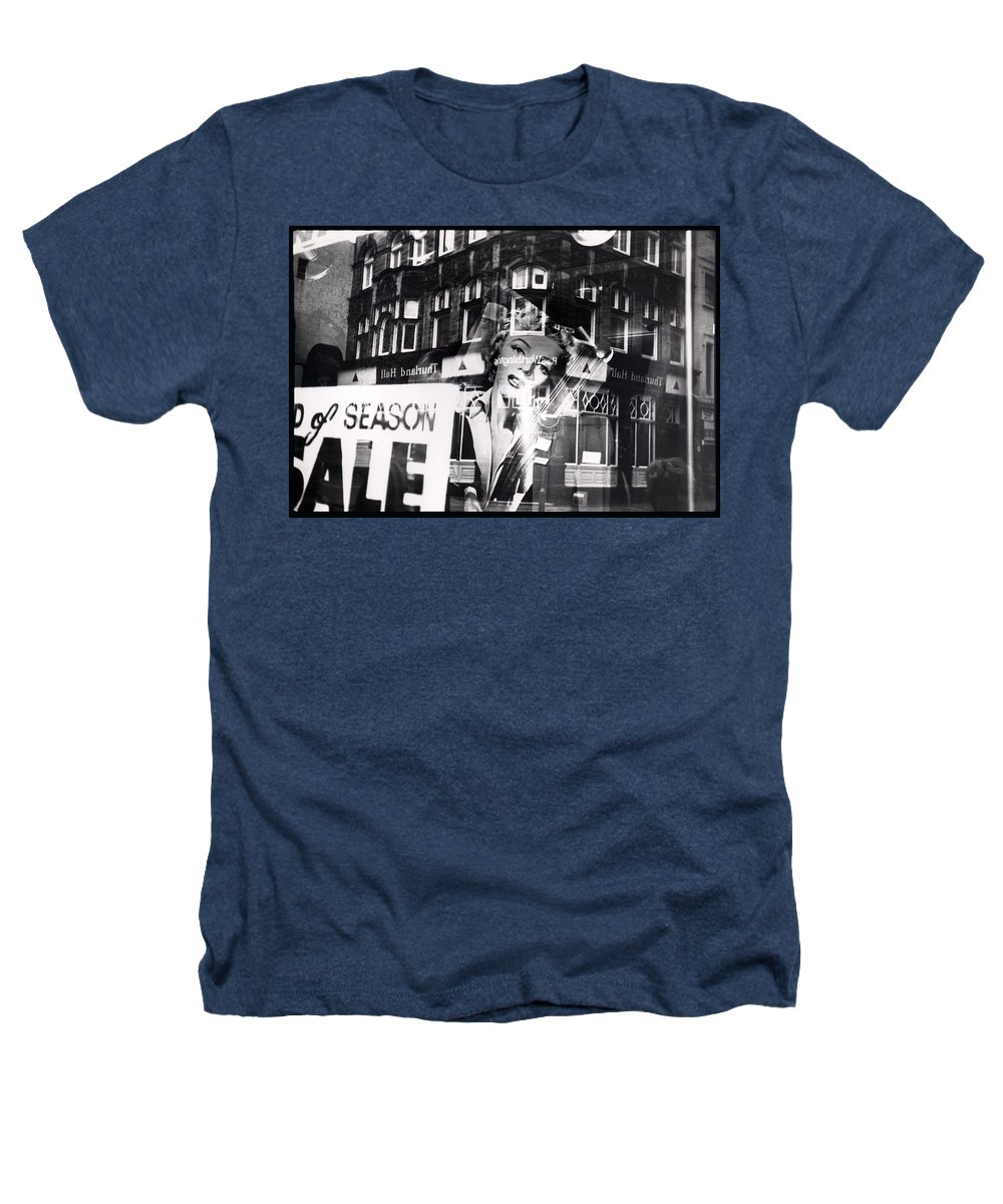 Marilyn Heathers T-Shirt featuring the photograph Photograph Of Marilyn by Charles Stuart