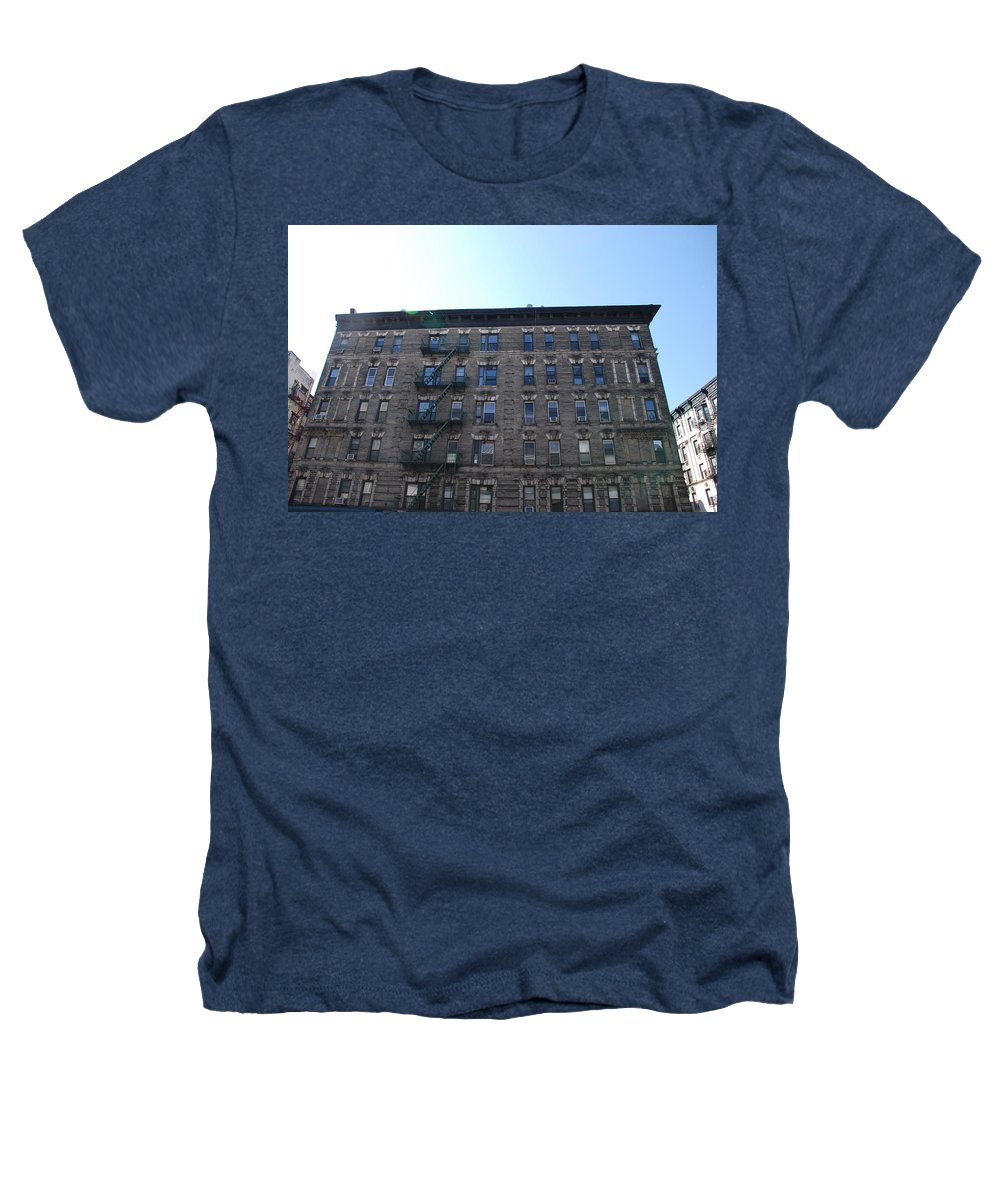 Architecture Heathers T-Shirt featuring the photograph Physical Graffitti by Rob Hans