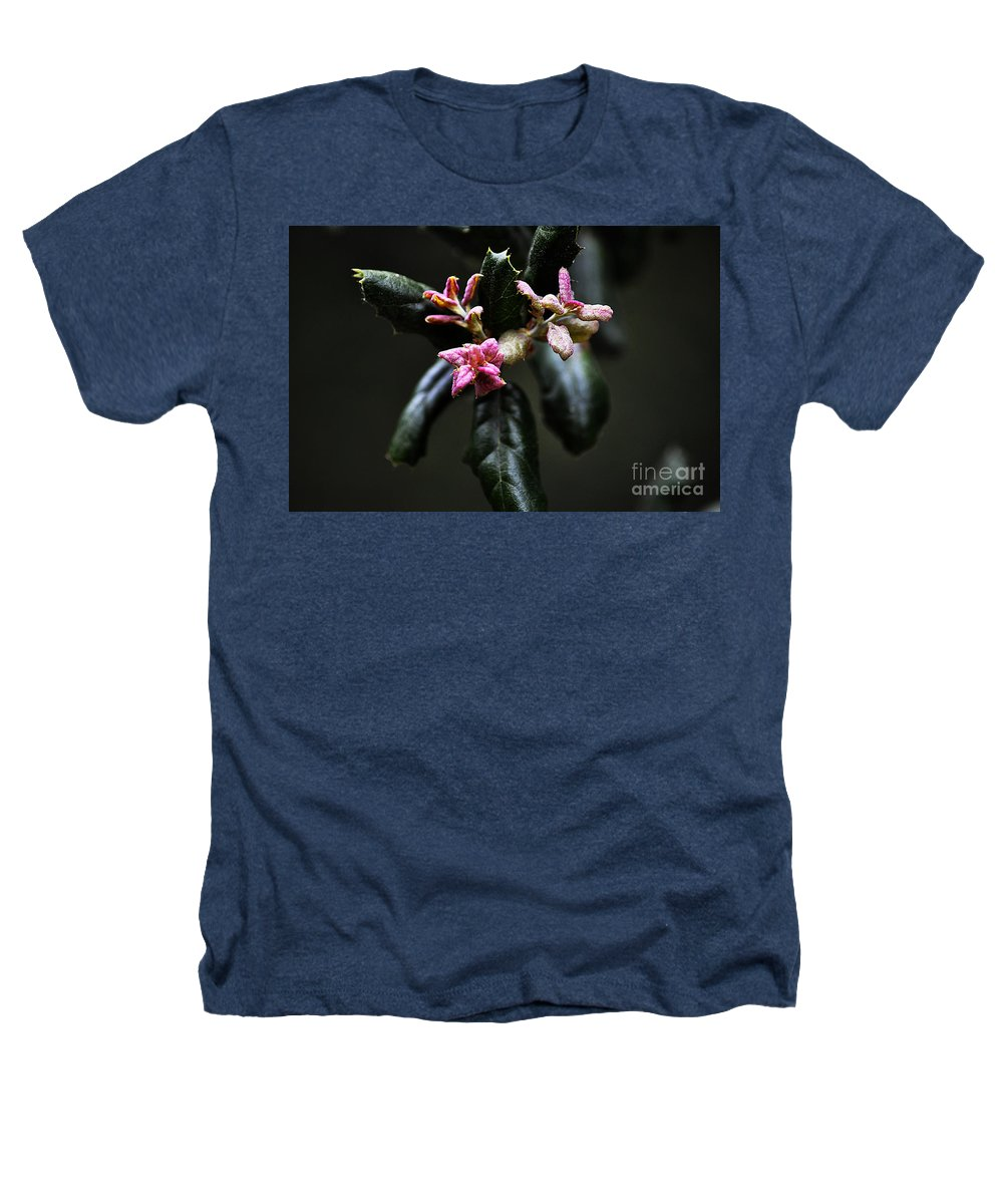 Clay Heathers T-Shirt featuring the photograph Pink Bud by Clayton Bruster