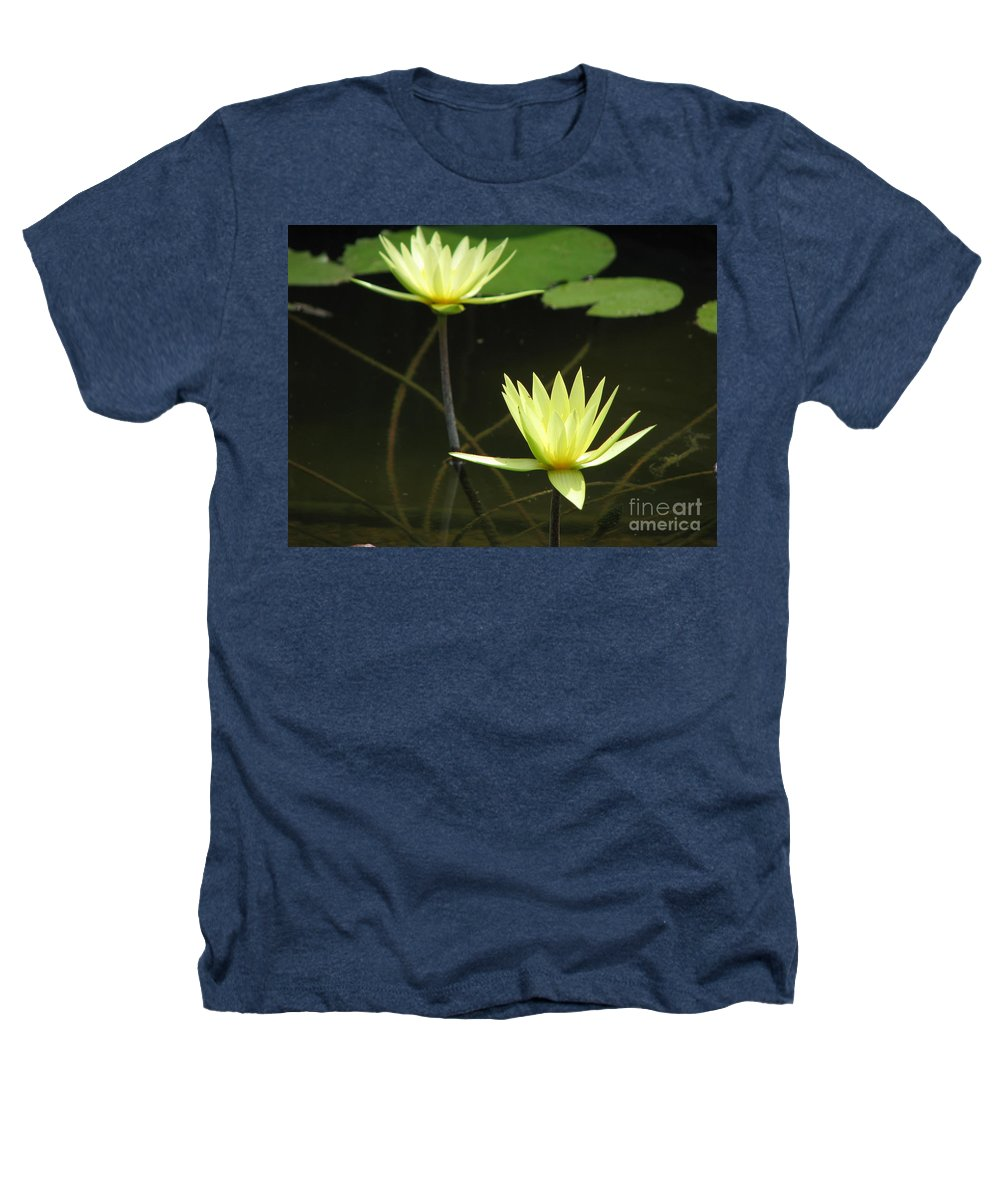 Pond Heathers T-Shirt featuring the photograph Pond by Amanda Barcon
