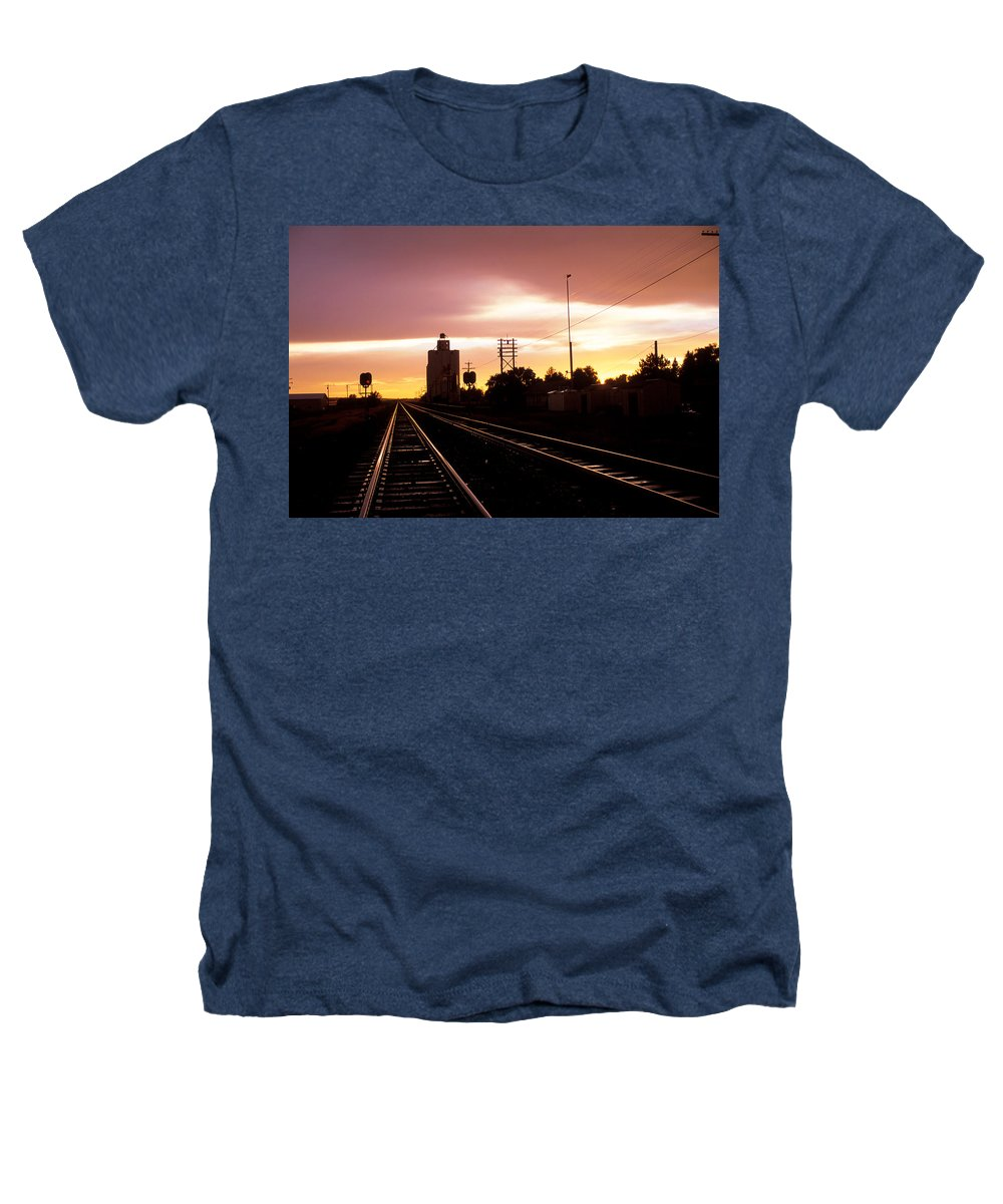 Potter Heathers T-Shirt featuring the photograph Potter Tracks by Jerry McElroy