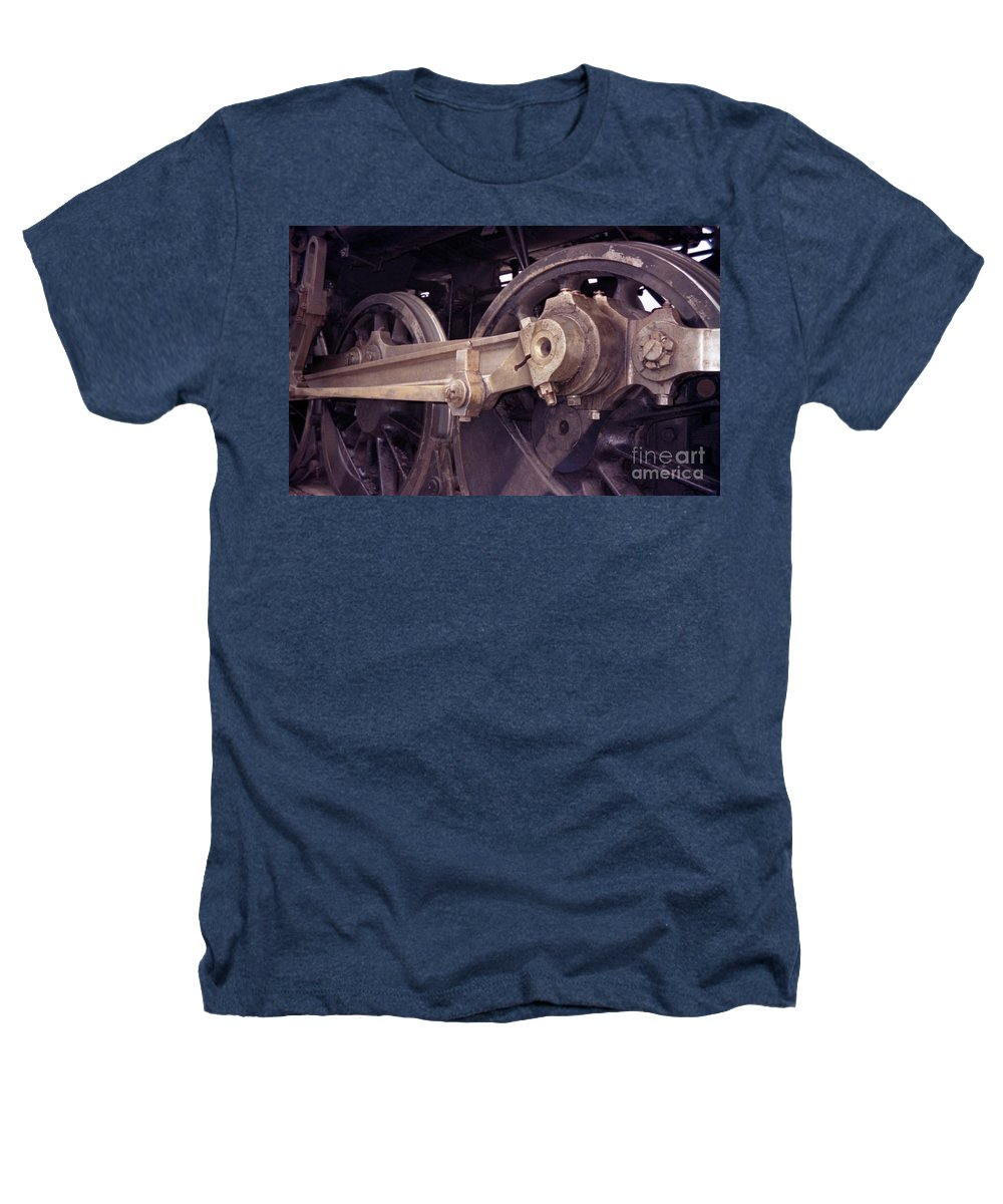Trains Heathers T-Shirt featuring the photograph Power Train by Richard Rizzo