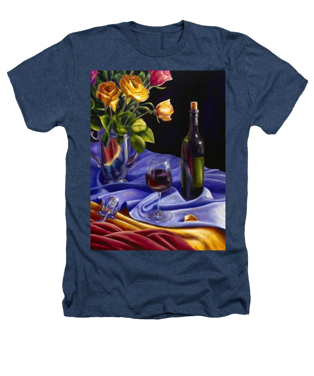Still Life Heathers T-Shirt featuring the painting Private Label by Shannon Grissom