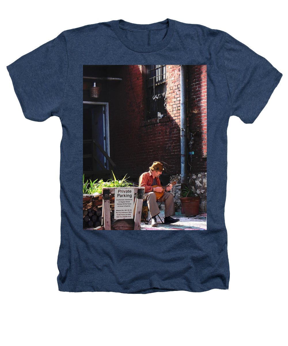 City Scape Heathers T-Shirt featuring the photograph Private Parking by Steve Karol