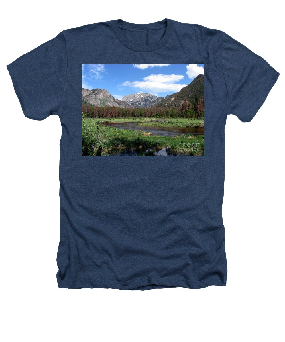 Nature Heathers T-Shirt featuring the photograph Quiet by Amanda Barcon