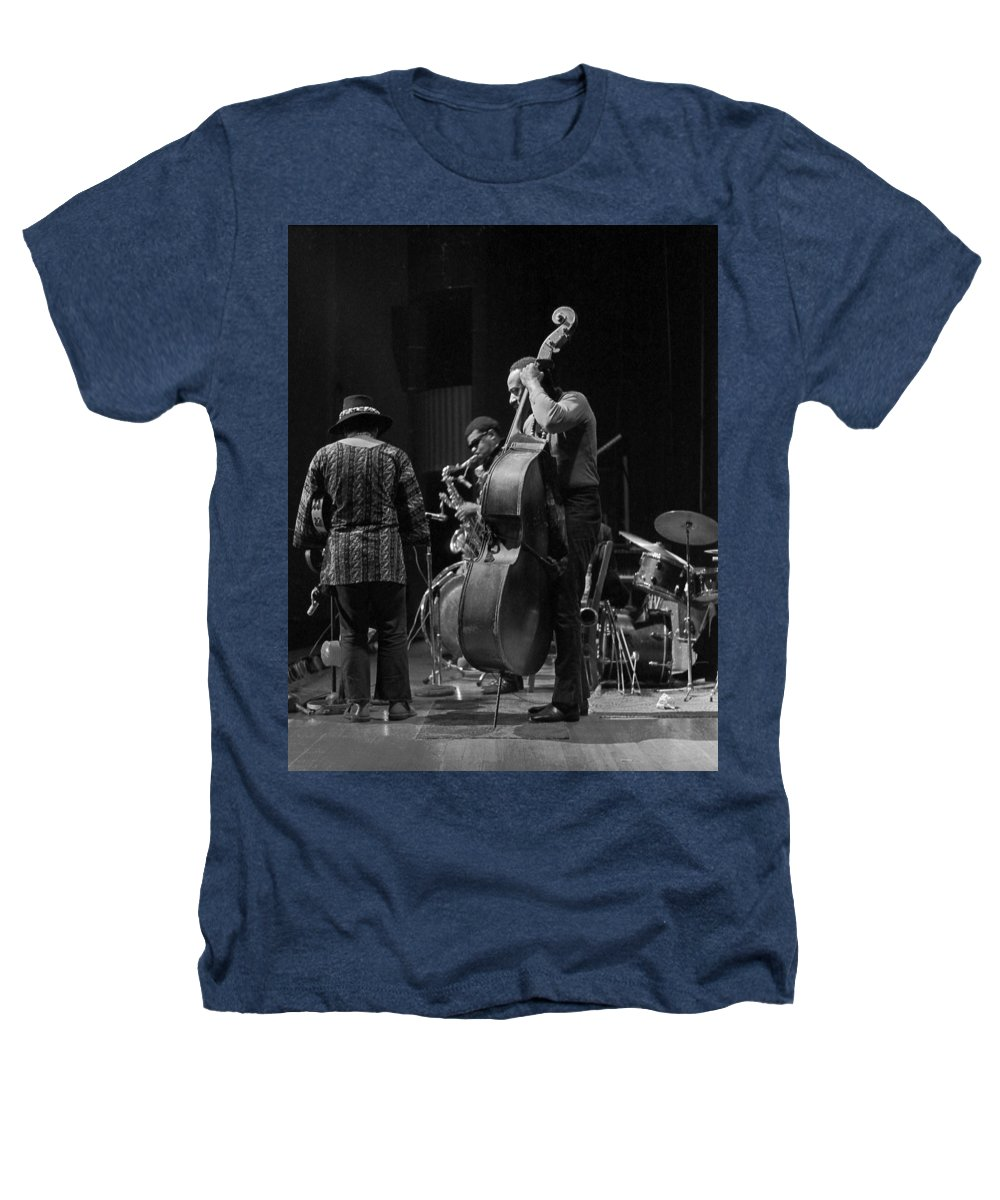 Rahsaan Roland Kirk Heathers T-Shirt featuring the photograph Rahsaan Roland Kirk 2 by Lee Santa