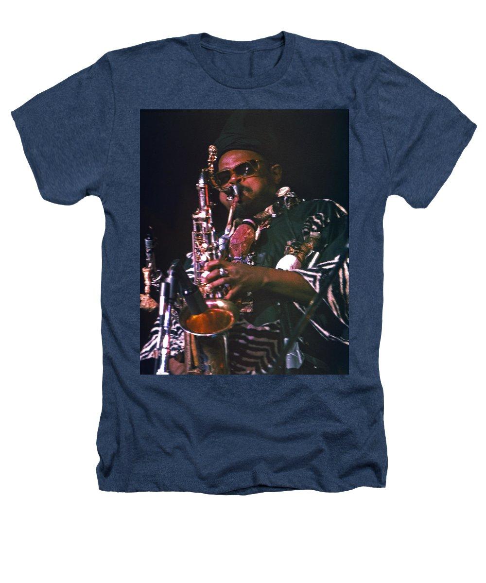 Rahsaan Roland Kirk Heathers T-Shirt featuring the photograph Rahsaan Roland Kirk 4 by Lee Santa