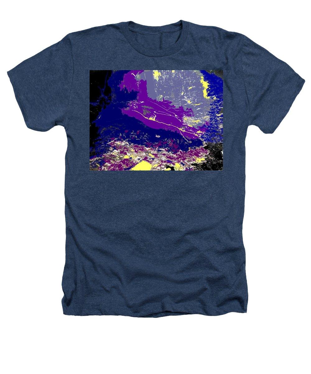 Rainforest Heathers T-Shirt featuring the photograph Rainforest Shadows by Ian MacDonald