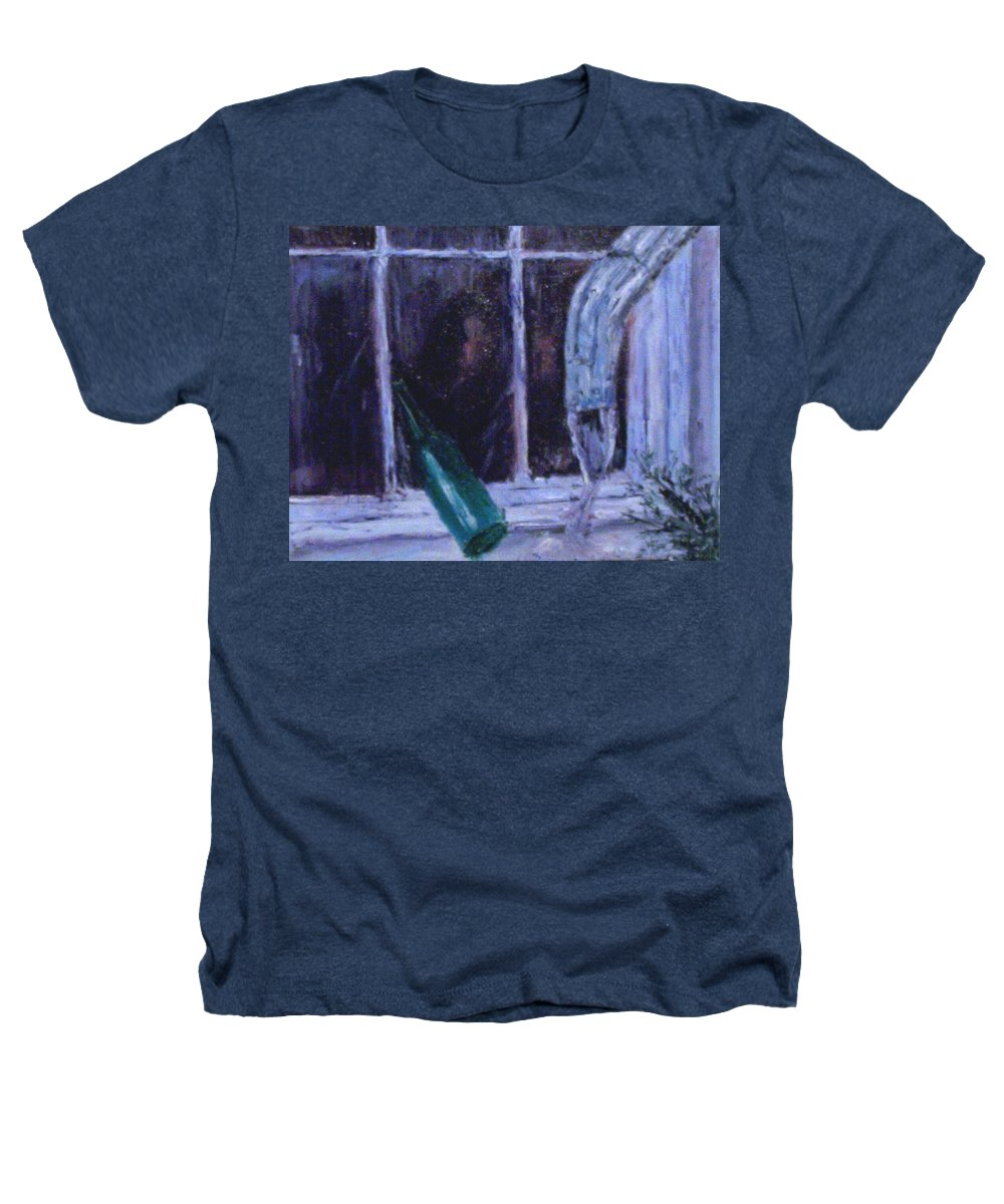 Original Heathers T-Shirt featuring the painting Rainy Day by Stephen King