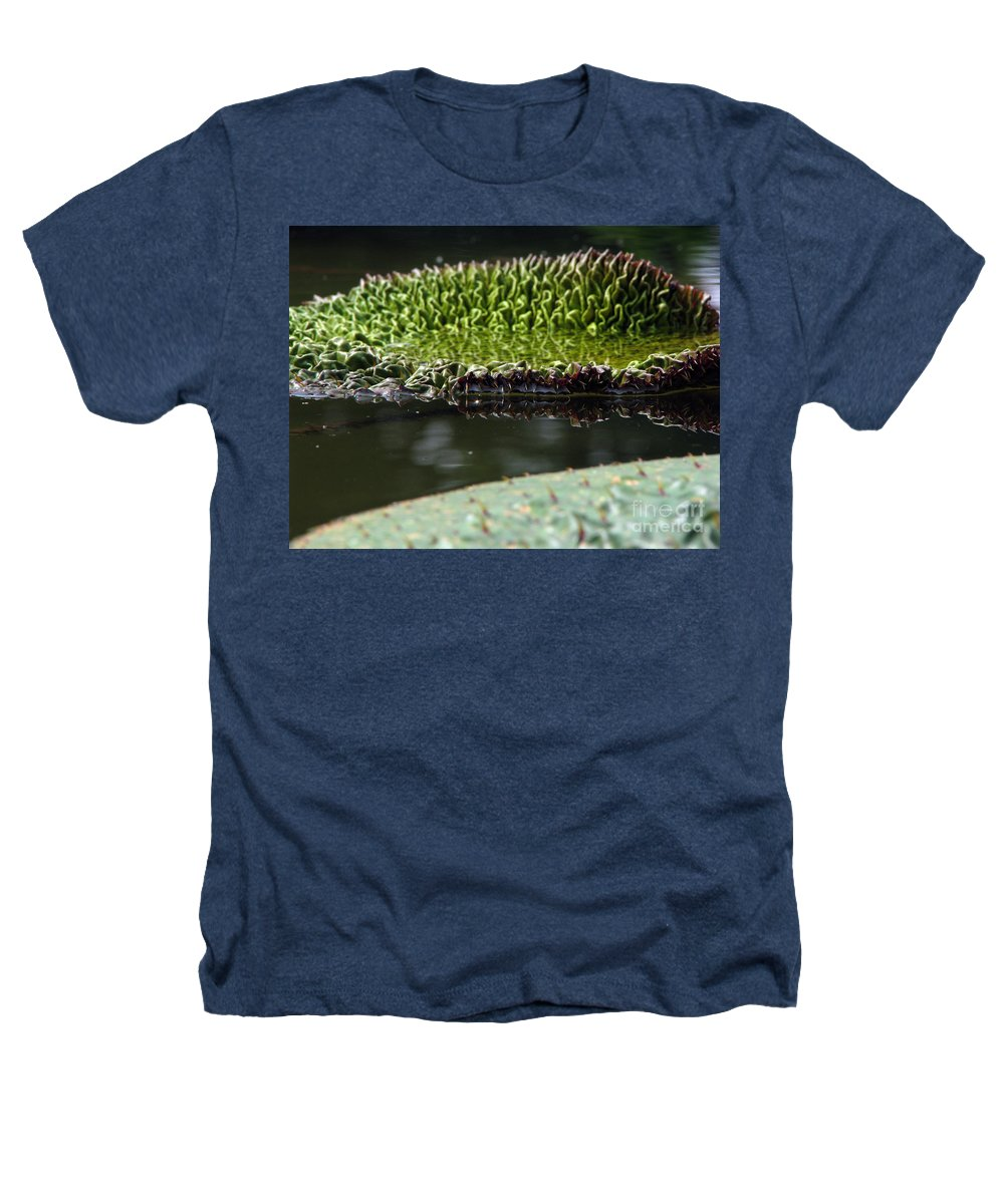 Lillypad Heathers T-Shirt featuring the photograph Ready To Spread by Amanda Barcon