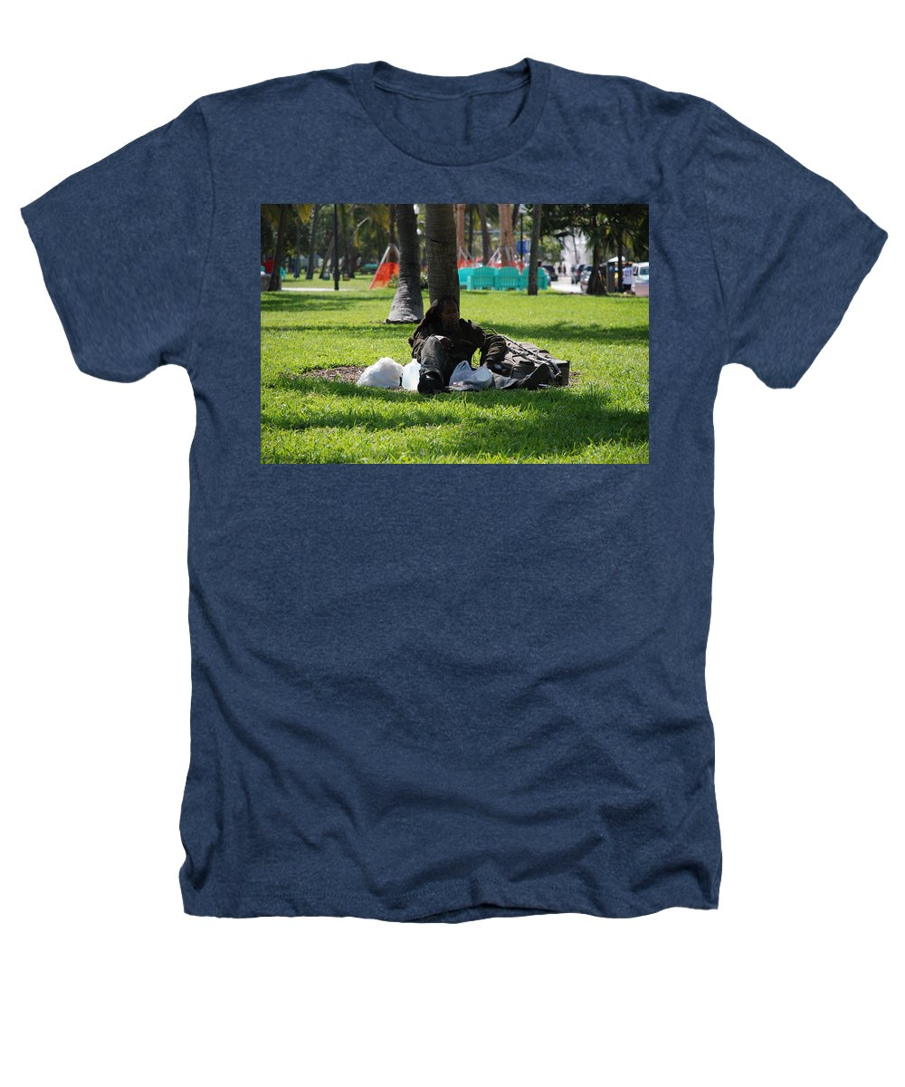 Urban Heathers T-Shirt featuring the photograph Rip Van Winkle by Rob Hans