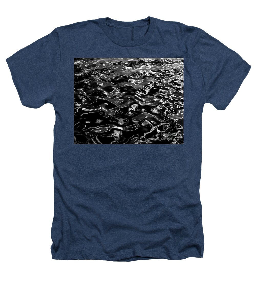 Black And White Heathers T-Shirt featuring the photograph Ripples by Peter Piatt