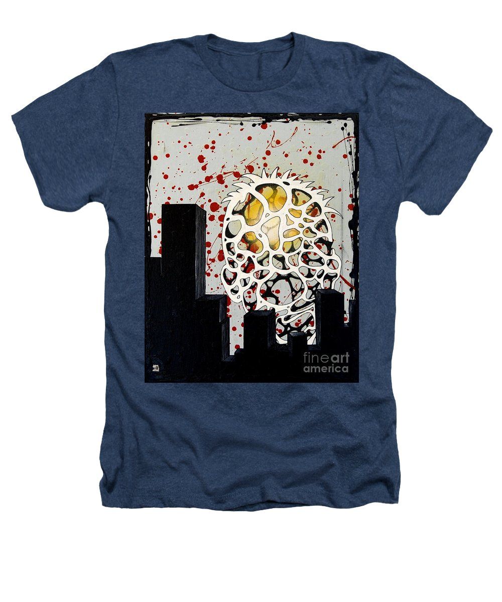 Energy Heathers T-Shirt featuring the painting Rise by A 2 H D